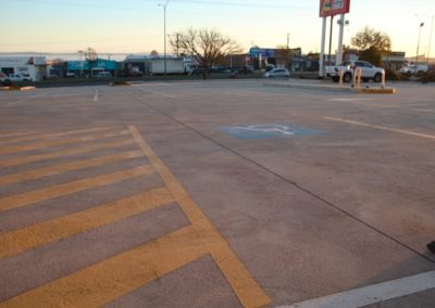Early Settler disabled car park