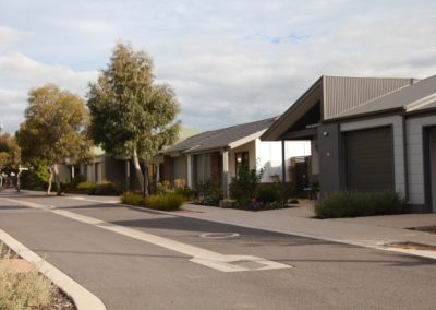 picture of exposed aggregate at retirement village